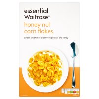 essential Waitrose honey nut corn flakes