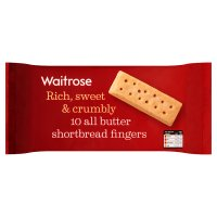 Waitrose Scottish shortbread fingers