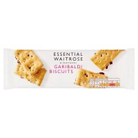essential Waitrose garibaldi biscuits