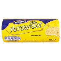 Crawford's thin arrowroot biscuits