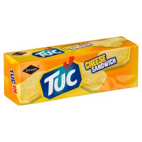 Tuc cheese sandwich