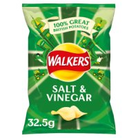 Walkers salt & vinegar single crisps