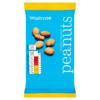 Waitrose honey roasted peanuts
