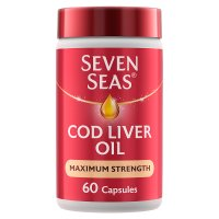 7 Seas extra high cod liver oil x 60