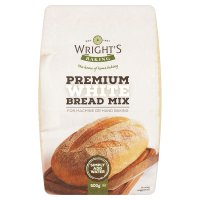Wright's premium white bread mix