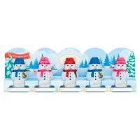 Lindt 5 milk chocolate snowmen