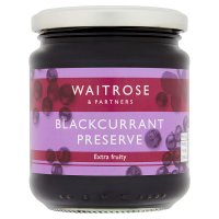 Waitrose blackcurrant conserve
