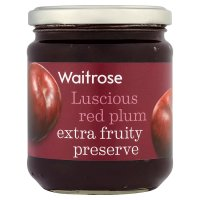 Waitrose red plum conserve