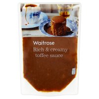 Waitrose Toffee Sauce