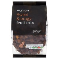 Waitrose mixed fruit with cranberries, apricots & pineapple