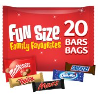 Mars Variety Funsize, 22 pack