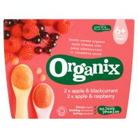 Organix organic fruit variety pack - stage 1