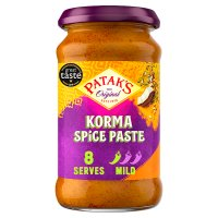 Patak's mild korma curry paste