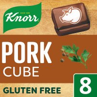 Knorr 8 pack pork stock cubes