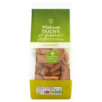 Waitrose LOVE life organic almonds