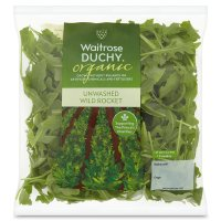 Waitrose organic wild unwashed rocket