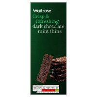 Waitrose chocolate mint thins
