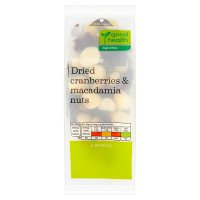 Waitrose LOVE life dried cranberries & macadamia nuts