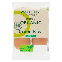 Waitrose Organic kiwi fruit