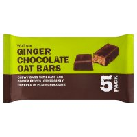 Waitrose ginger & chocolate oat bars
