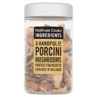 Waitrose Cooks' Ingredients dried porcini mushrooms