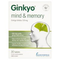 Ginkyo biloba tablets