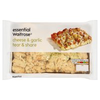 essential Waitrose cheese & garlic tear & share bread
