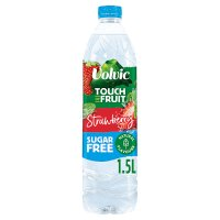 Volvic sugar free touch of fruit strawberry