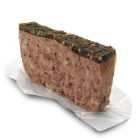 Waitrose farm assured Belgian coarse pork pate with green peppercorns