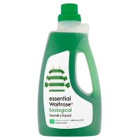 essential Waitrose biological liquid, 20 washes