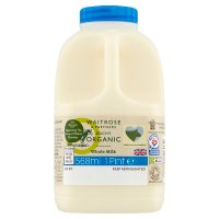Waitrose Duchy Organic traditional whole milk unhomogenised