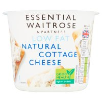 essential Waitrose natural cottage cheese 1.5% fat