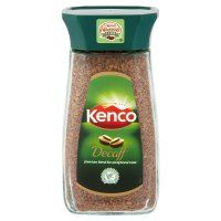 Kenco instant decaffeinated coffee