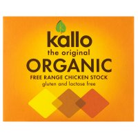 Kallo 6 organic chicken stock cubes