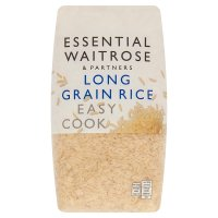 essential Waitrose easy cook long grain rice