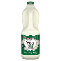 Yeo Valley organic semi-skimmed milk