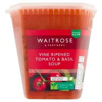 Waitrose tomato & fresh basil soup