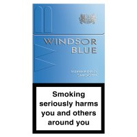 Windsor Blue smooth superking cigarettes