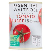 essential Waitrose Double Concentrated Tomato Puree