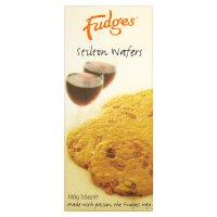 Fudges stilton wafers