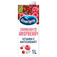 Ocean Spray cranberry and raspberry