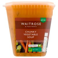 Waitrose chunky vegetable soup
