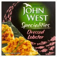 John West dressed lobster