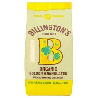 Billington's organic granulated cane sugar