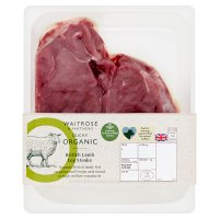 Duchy Originals from Waitrose 2 organic Welsh lamb leg steaks