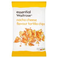 Waitrose nacho cheese tortilla chips