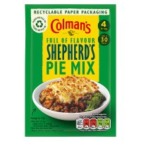 Colman's shepherd's pie recipe mix