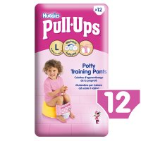 Huggies Pull Ups Potty Training Pants, Girl, Large 16-23kg