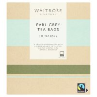 Waitrose Earl Grey 100 tea bags