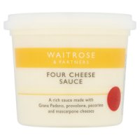 Waitrose four cheese sauce